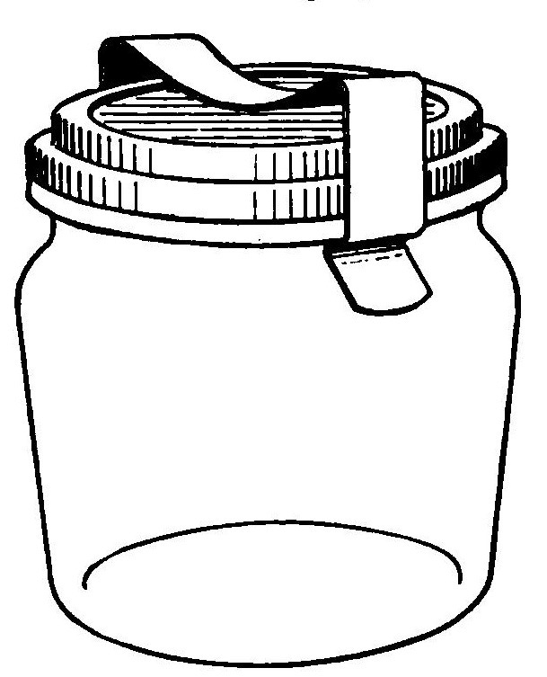 Canning Supplies Clip Art
