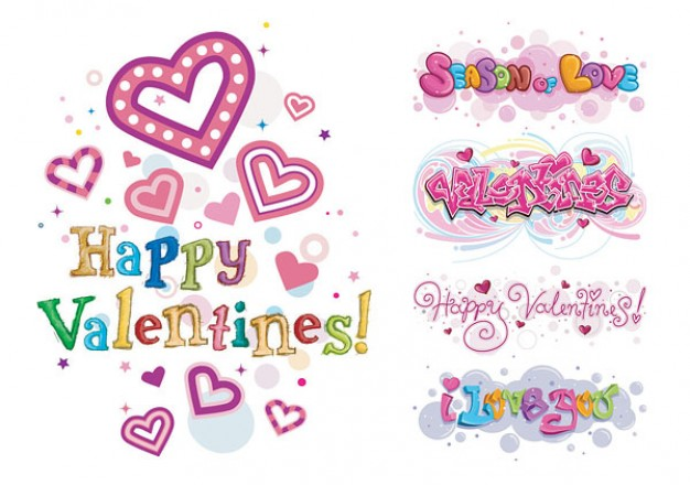 Free happy valentines day clipart
