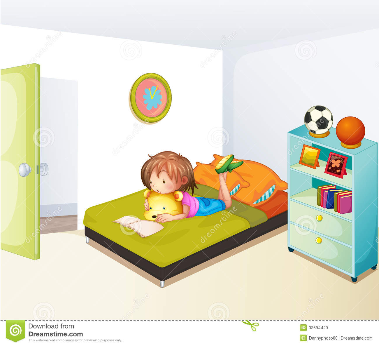 kids clean room clip art the image kid has it. Black Bedroom Furniture Sets. Home Design Ideas
