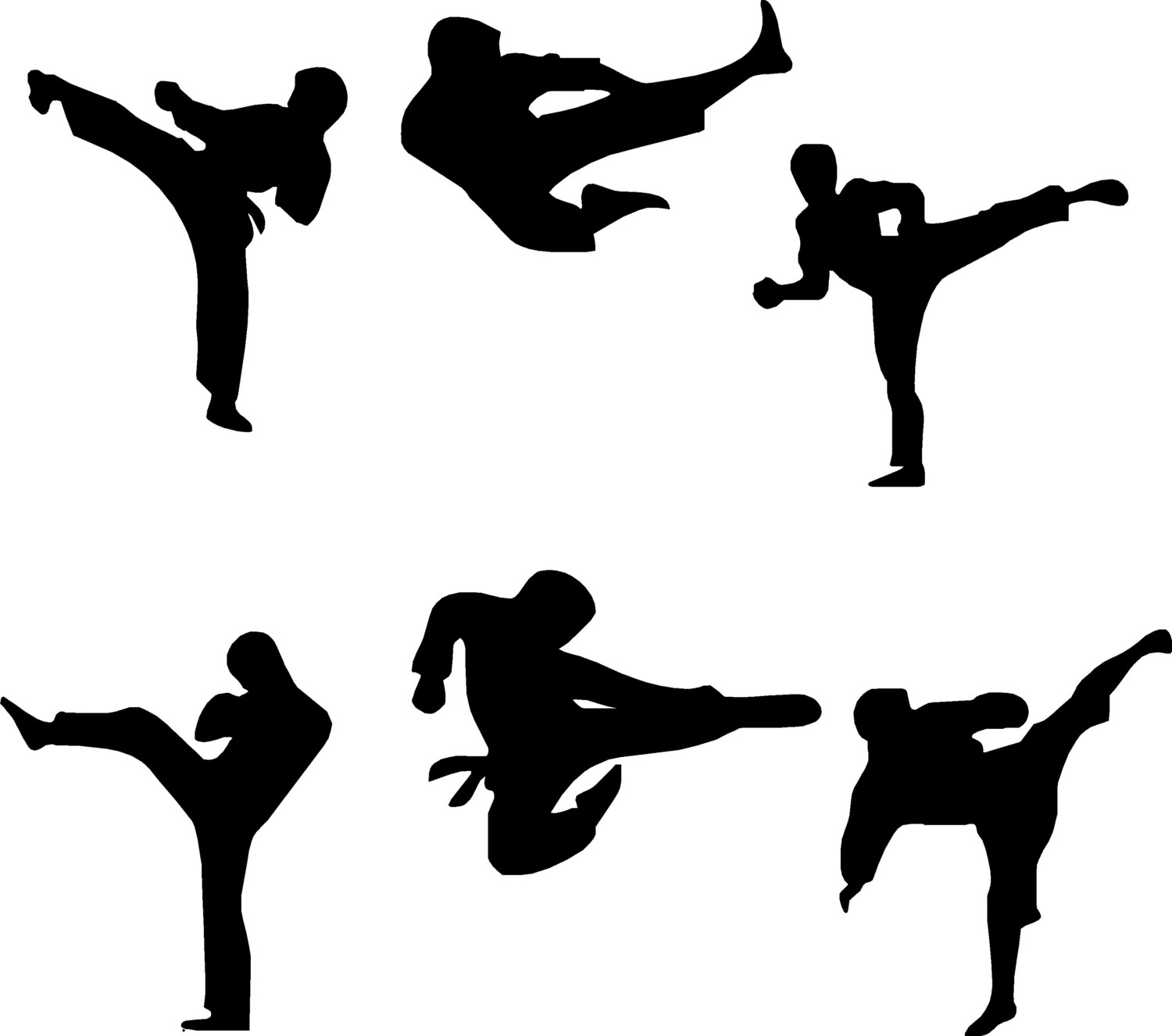 Picture Of Martial Arts   Clipart Best