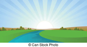 River Illustrations And Clip Art  29096 River Royalty Free