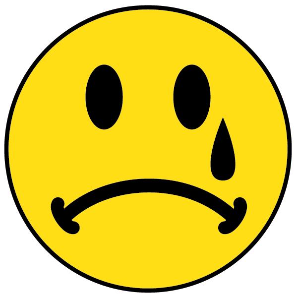 Sad Face With Tears Clipart
