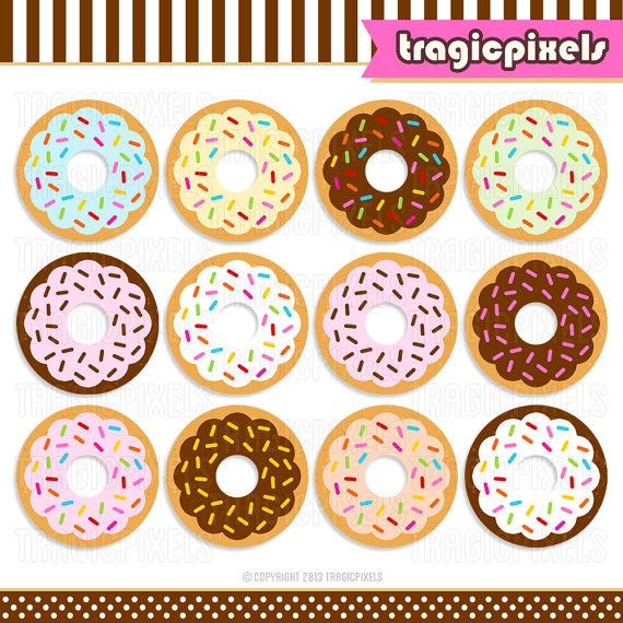 Doughnut Box Clipart