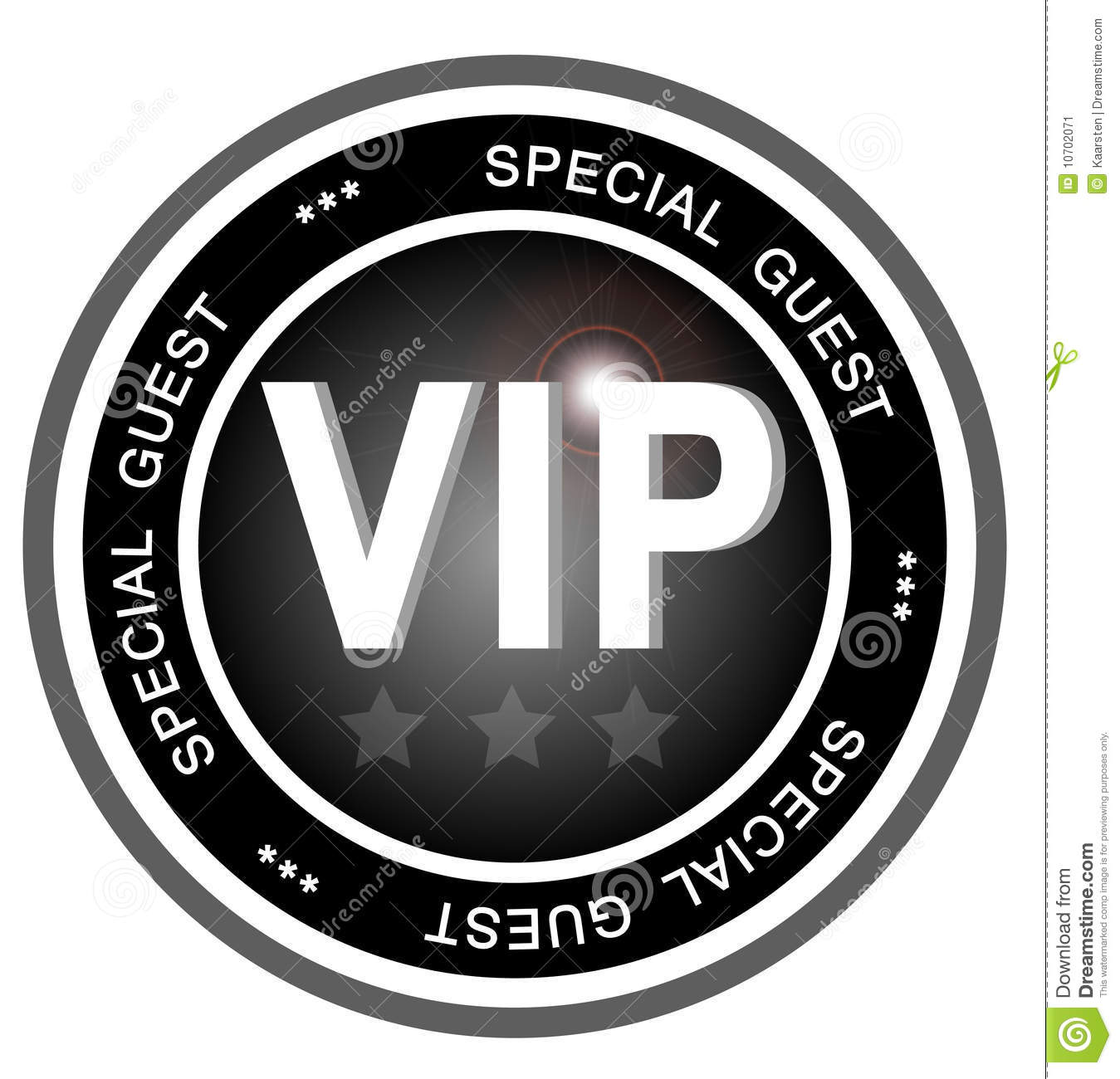 Very Important Person Or Special Guest To An Event Or Party