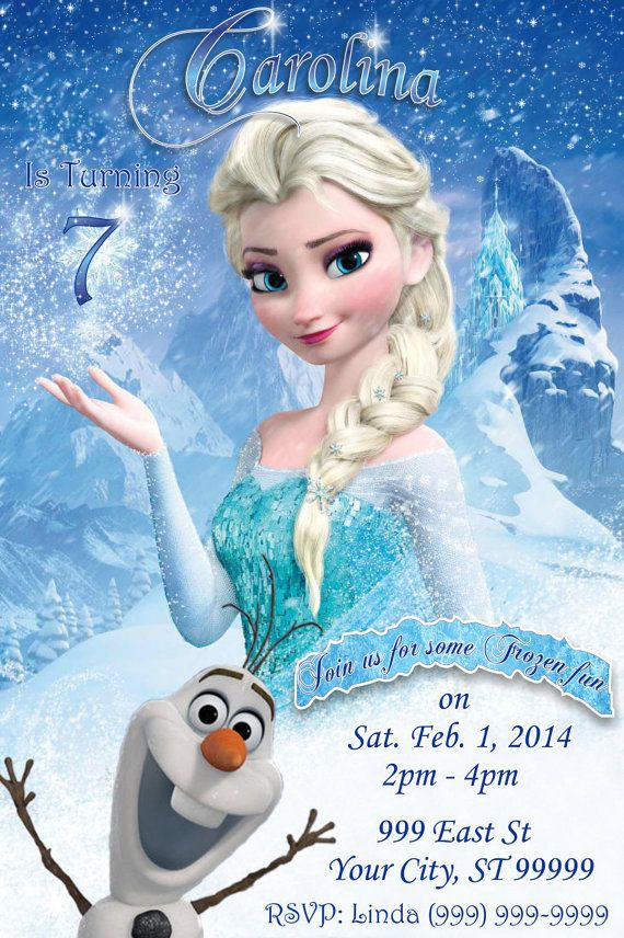 Happy 7th Birthday Frozen Clipart - Clipart Suggest