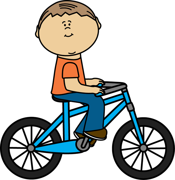 Clip Art Bike Riding   Cliparts Co