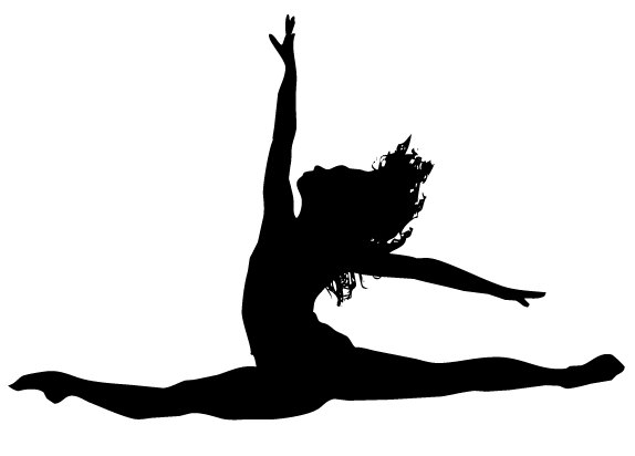 Dancer Jumping Silhouette   Clipart Panda   Free Clipart Images
