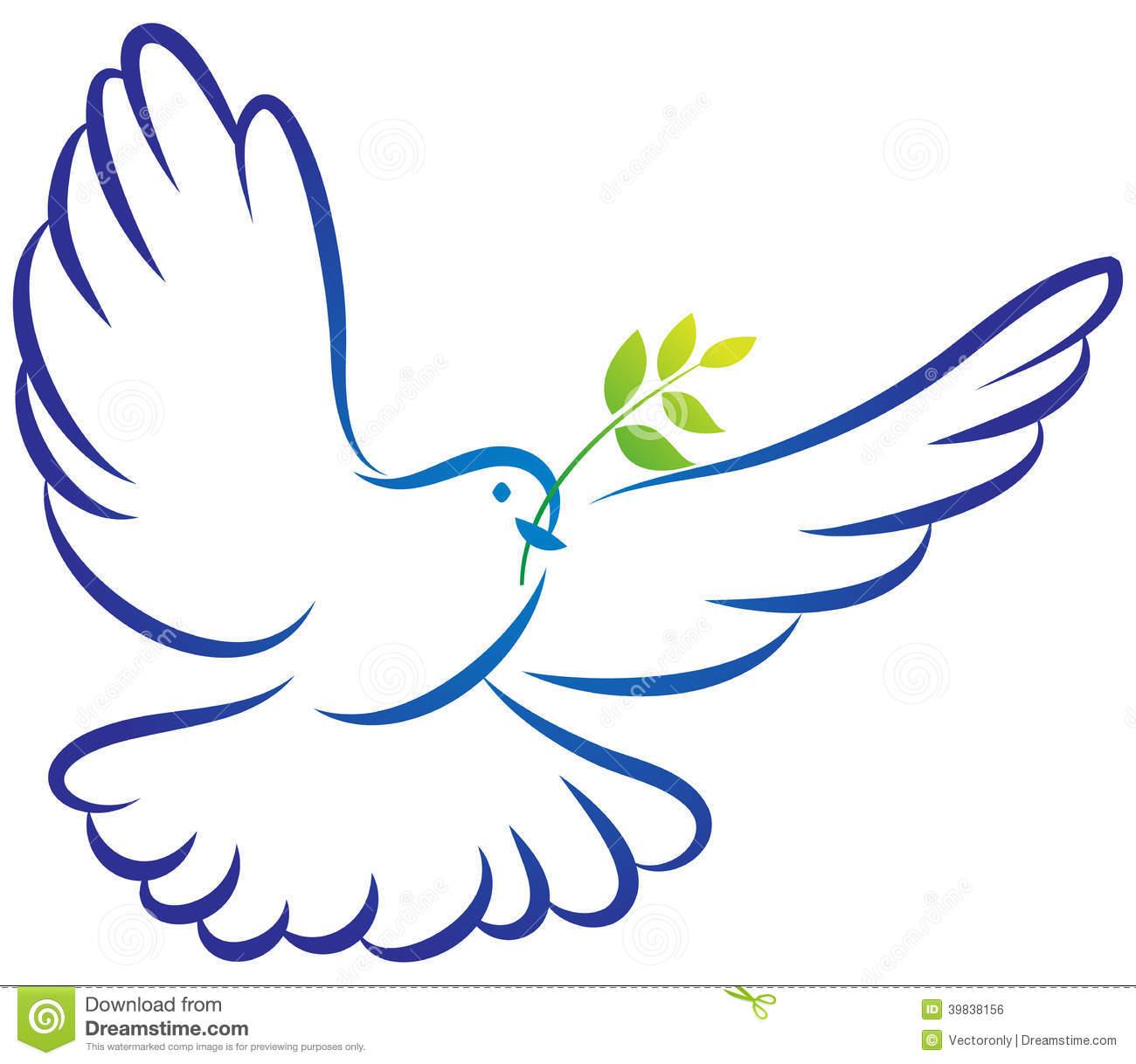 Peace Dove Clipart - Clipart Kid
