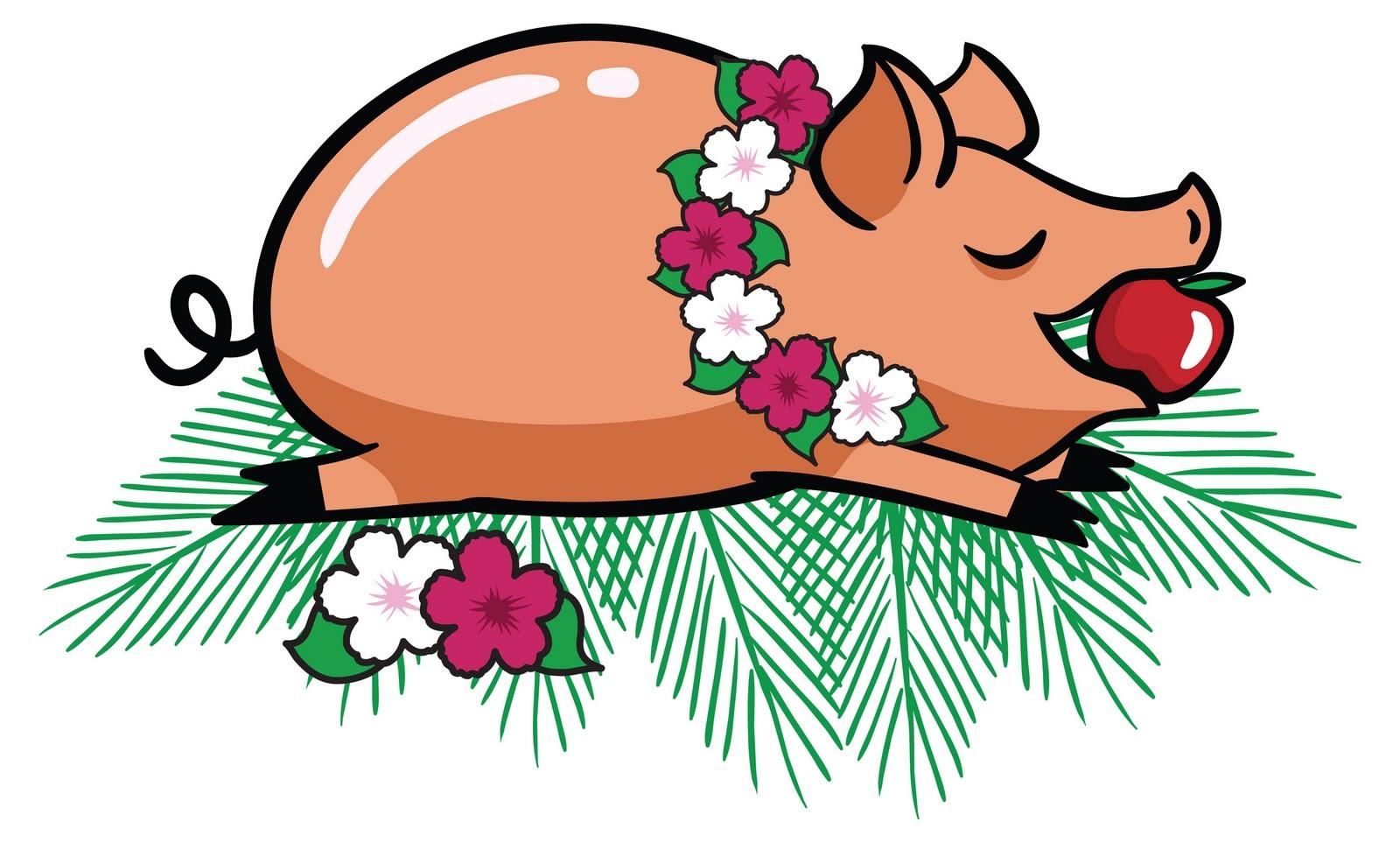 Clip Art Pig Roast Clip Art pig roast clipart kid luau clip art black and white panda free images