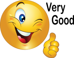 Thumbs Up Smiley Emoticon Clipart   Royalty Free Public Domain Clipart