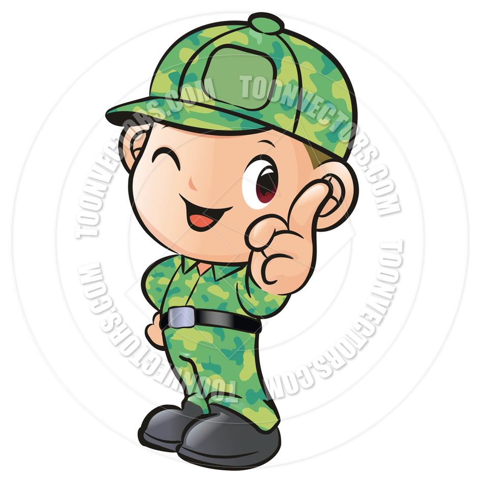 soldier boy clipart