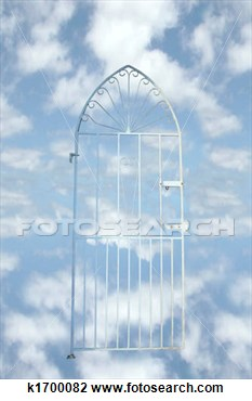 Clip Art   Heavens Gate  Fotosearch   Search Clipart Illustration