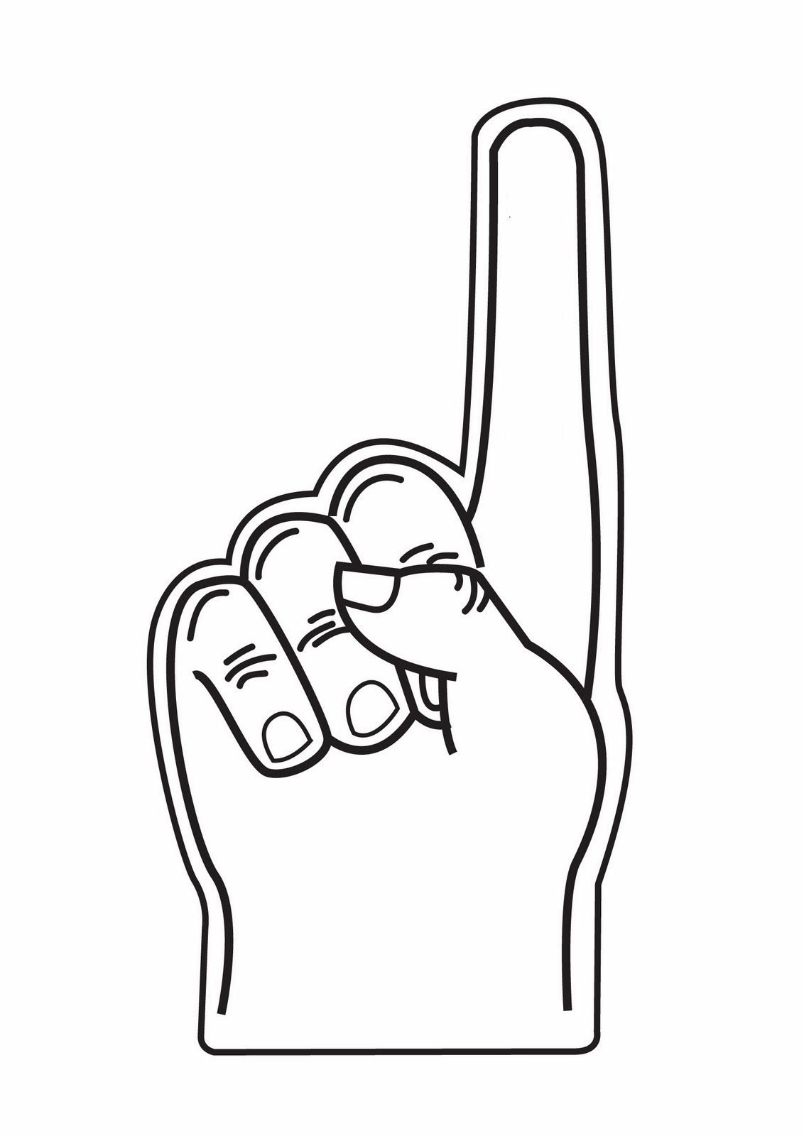 Picture Of Index Finger   Clipart Best
