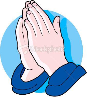 Prayer Hands Clipart - Clipart Kid