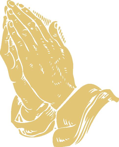 Praying Hands Clip Art At Clker Com   Vector Clip Art Online Royalty