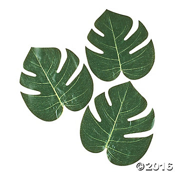 Tropical Leaves   Oriental Trading
