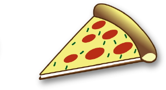 Clip Art Cheese Pizza Clipart cheese pizza clipart kid clip art of a piece with and pepperoni