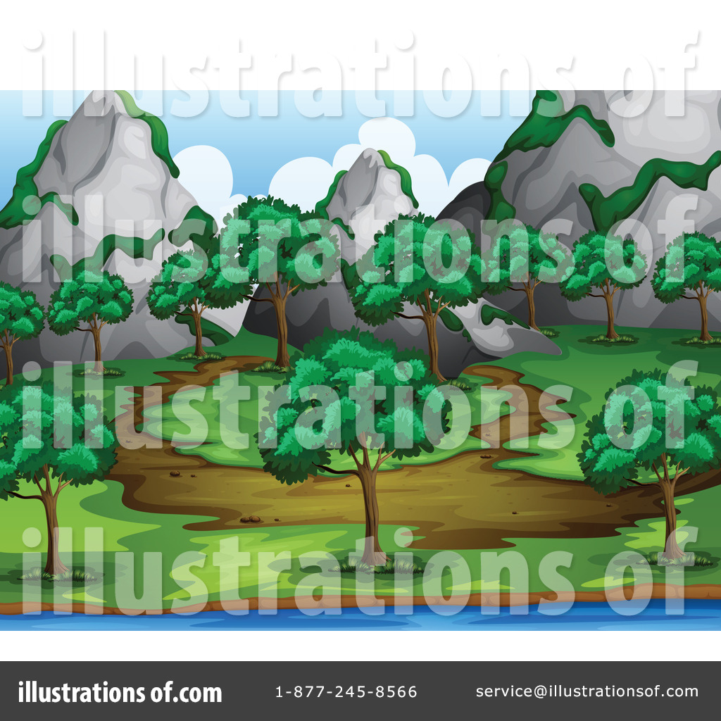 Nature Trail Clipart Trail Clipart Illustration