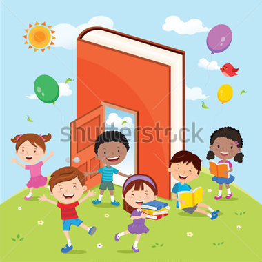 Of Diverse Kids Having Outdoor Education Stock Vector   Clipart Me