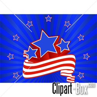 Related Stars And Stripes Background Cliparts