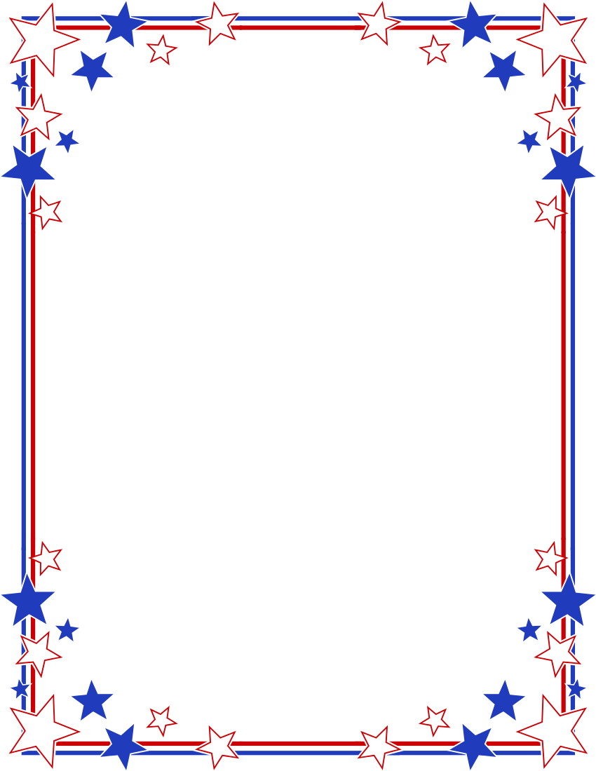 Stars Stripes Border   Http   Www Wpclipart Com Page Frames Holiday