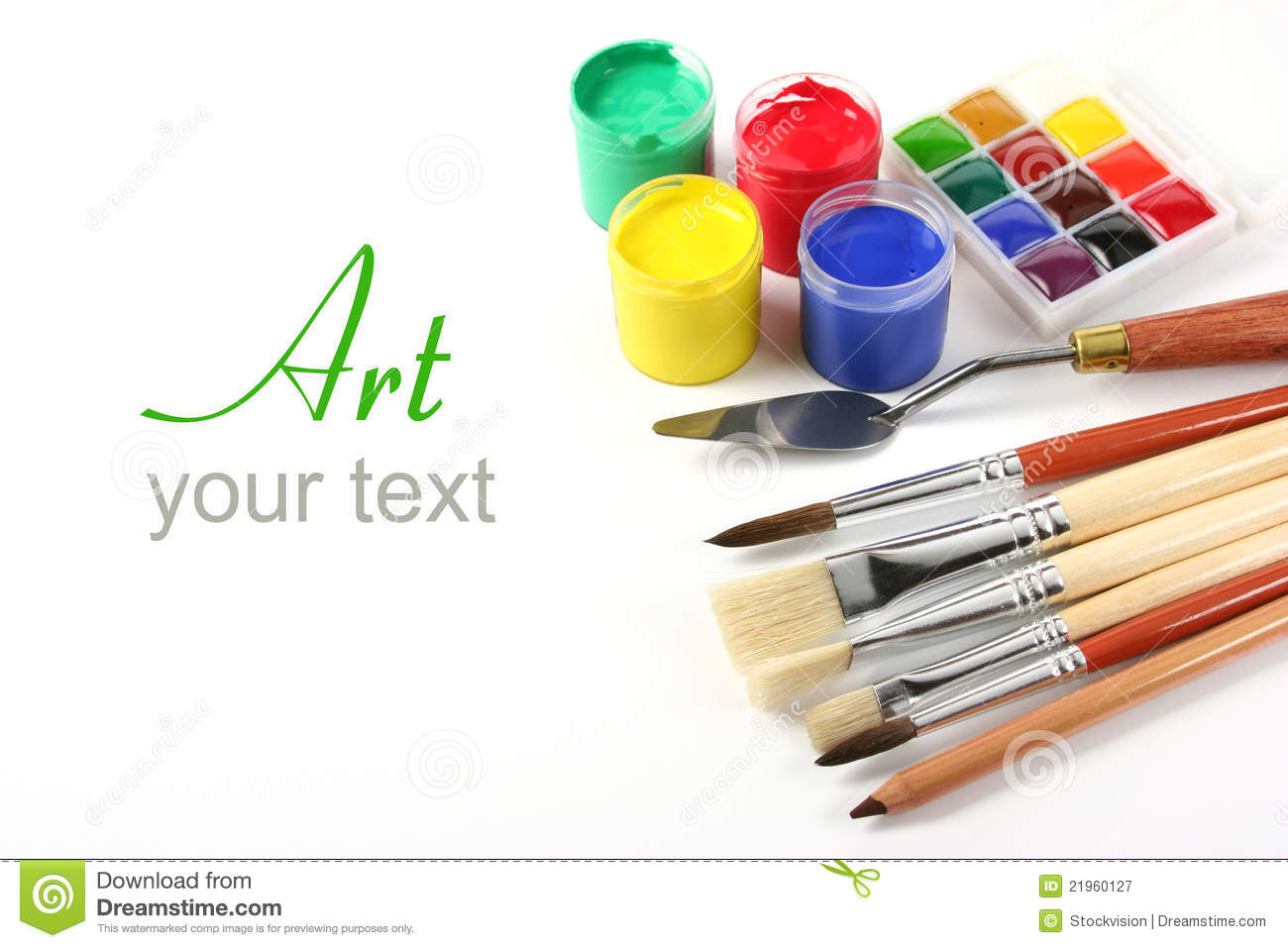 Paint Materials Clipart - Clipart Suggest