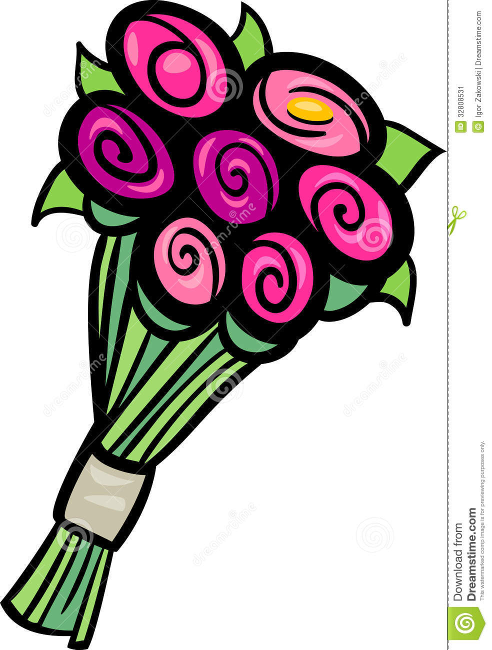 Bouquet Of Flowers Clipart   Clipart Panda   Free Clipart Images