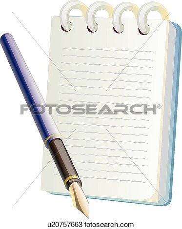 Clipart Of Pens Icons Pen Notebooks Notebook Stationery Icon