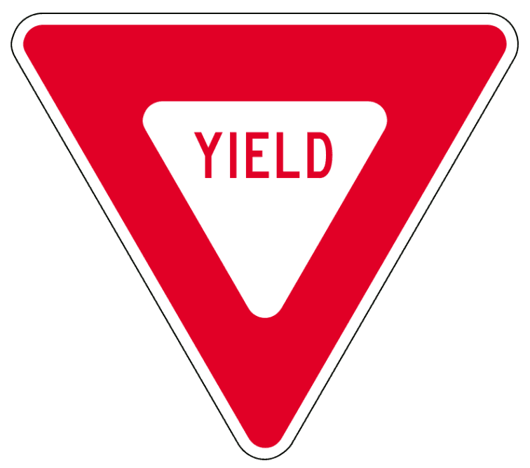Yield Sign Clip... Sign