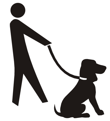 Dog Walking Clipart   Cliparts Co