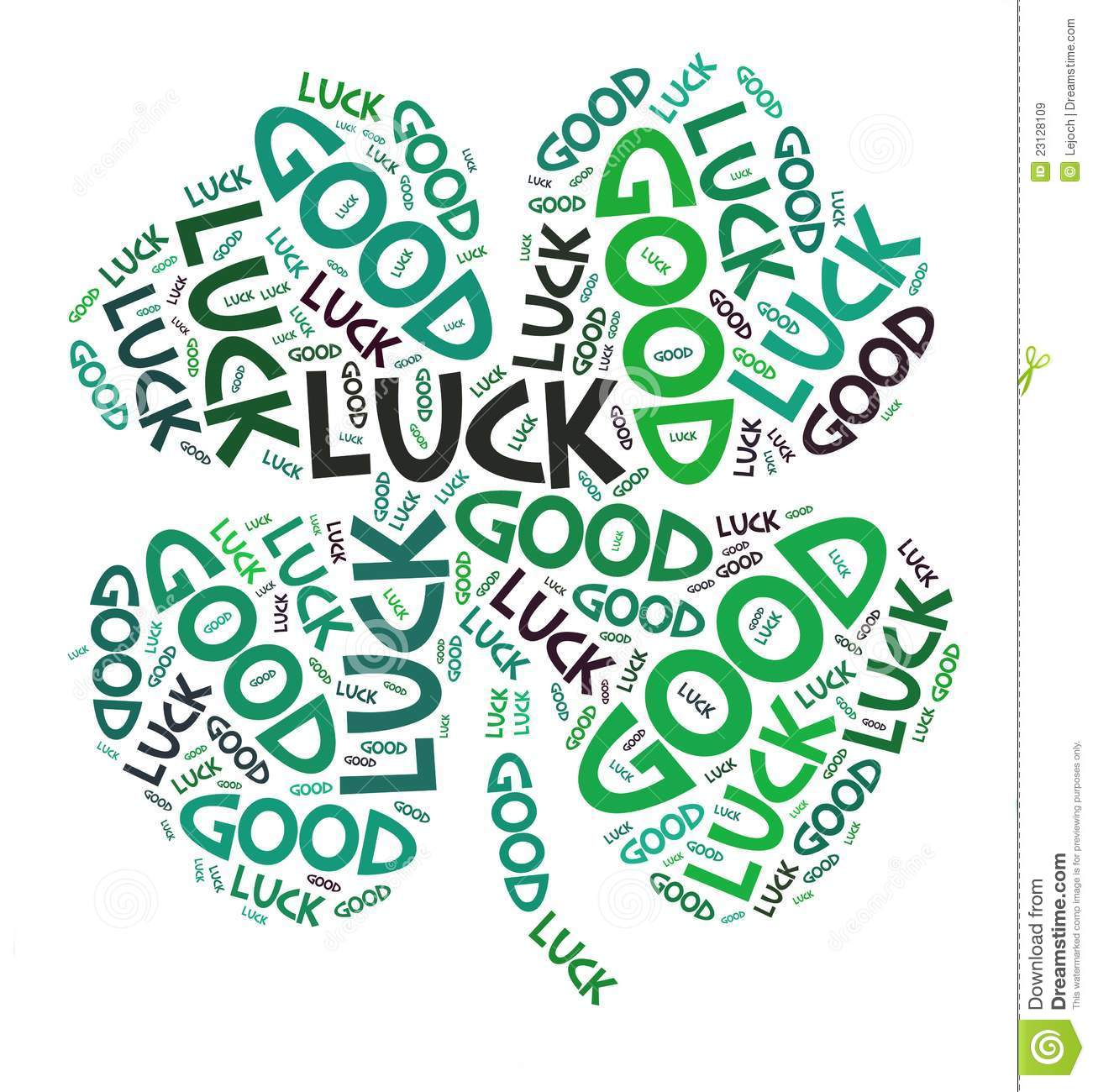 Good Luck Clipart Animated Four Leaves Clover Good Luck