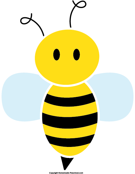 Home Free Clipart Bee Clipart Cute Bee