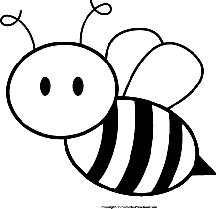 Home   Free Clipart   Bee Clipart   Cute Bee Side