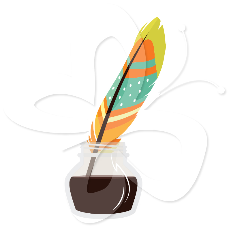 Inkwell And Quill Clipart - Clipart Suggest