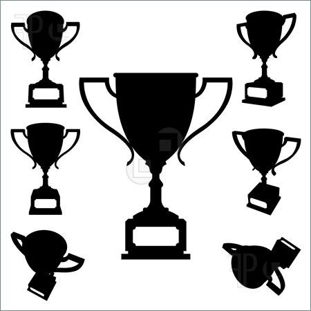 There Is 20 Trophy Cup Black And White   Free Cliparts All Used For