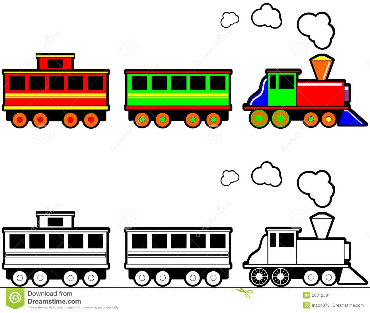 Toy Train Stock Image   Image  28812581