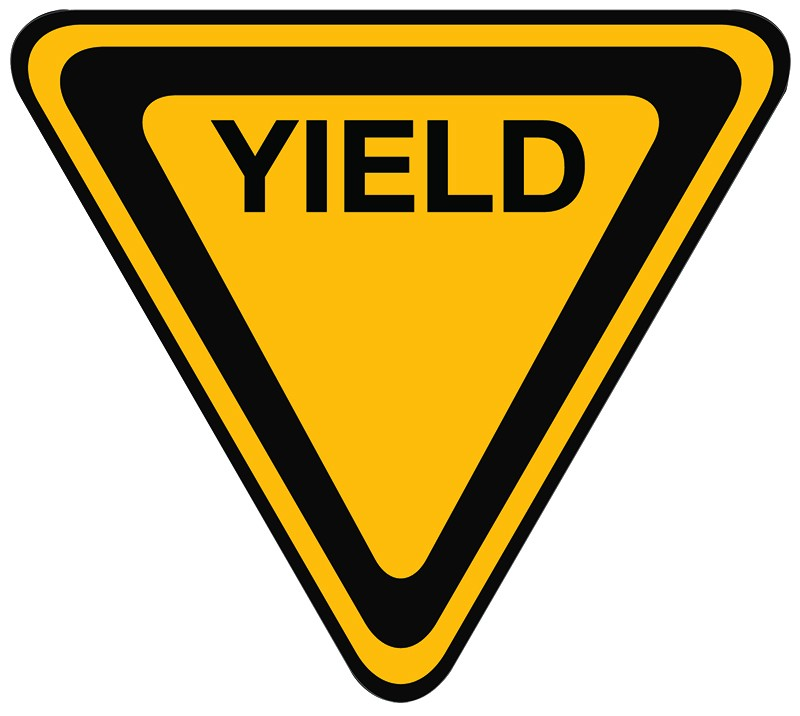 Yield Sign Clipart - C...