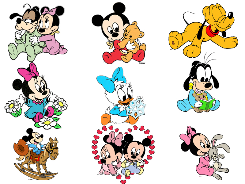 Baby Minnie And Mickey Mouse And Pluto Baby Pluto Wallpaper Jpg