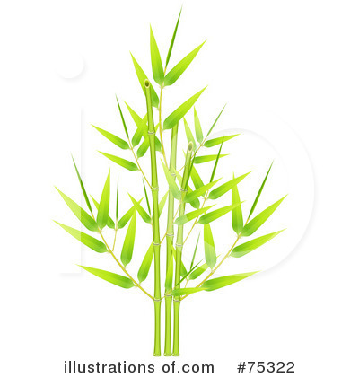 Bamboo Leaf Clipart More Clip Art Illustrations Of