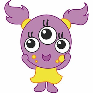 Girly Monsters Clipart - Clipart Kid