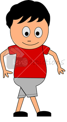 Fat Boy Cartoon Cartoon Boy Cartoon Fat Girl #QG24Oi - Clipart Kid