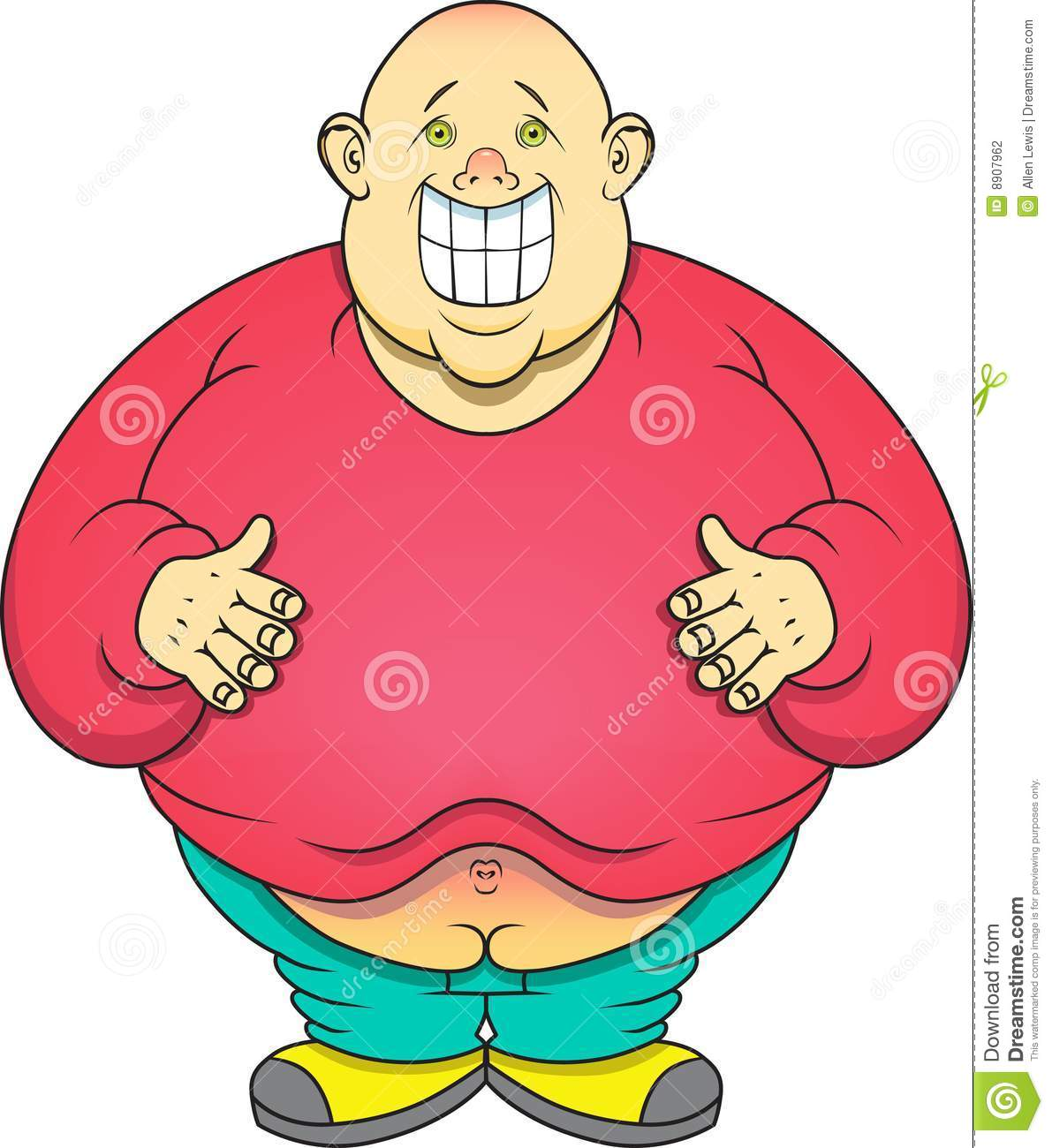 Fat Boy Stock Photography Image 8907962 #iLhF8I - Clipart Kid