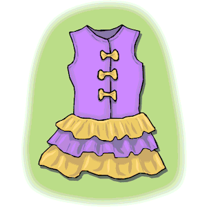 Girl Clothes Clipart Cliparts Of Girl Clothes Free Download  Wmf Eps