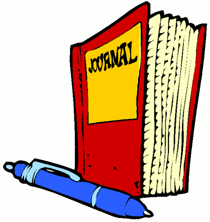 Journal Writing Clipart Clipart Suggest