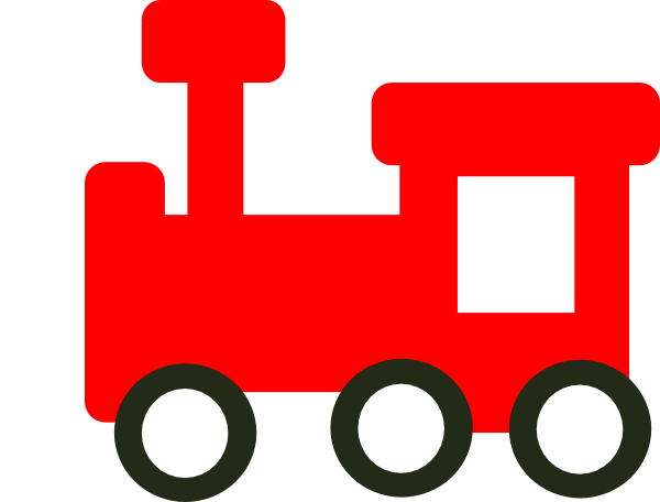 Red Train Clip Art At Clker Com   Vector Clip Art Online Royalty Free