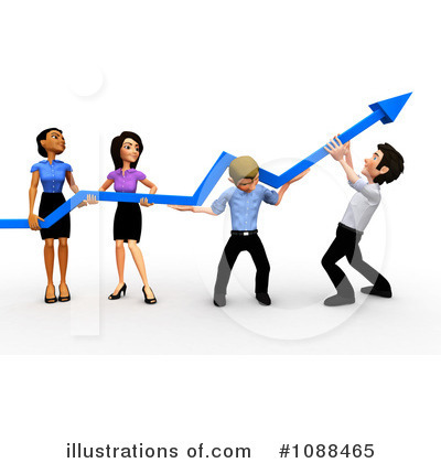 Royalty Free  Rf  Business Team Clipart Illustration  1088465 By