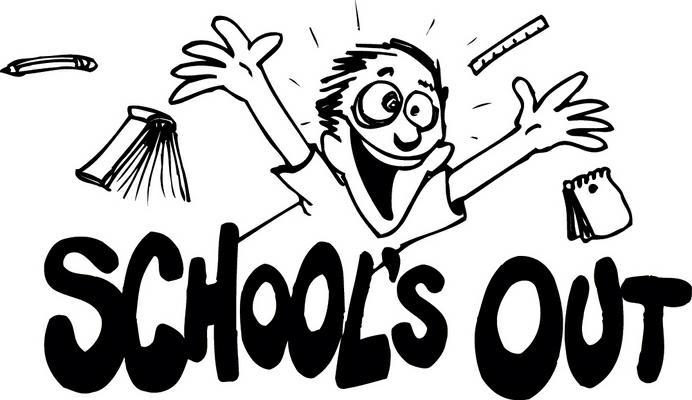 Schools Almost Out Clip Art