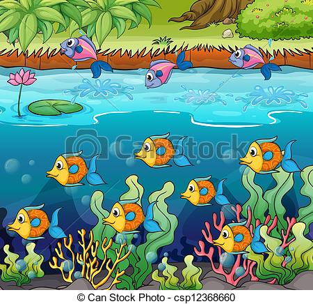 Pond Habitat Clipart - Clipart Suggest