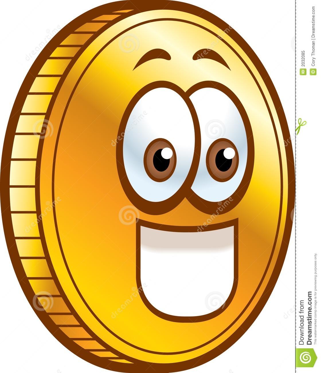 coin cartoon clipart clipart suggest Token Clip Art 1 Cent Clip Art