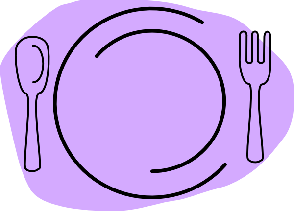 Plate Of Food Clipart - Clipart Kid